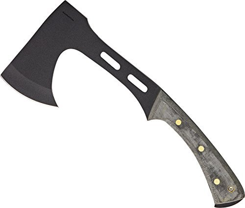 Condor Tool & Knife, Soldier Axe, 5-1/4in x 3-3/8in Blade, Micarta Handle with Sheath by Condor Tool & Knife