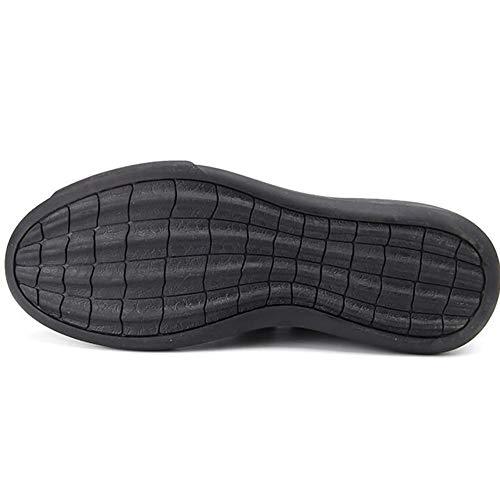 Scarpe Un Nuove Uomo Pelle Scarpe Pigro Resistente Casuale In Da Piatte Abrasione Pedale Respirabile 44 Black Scarpe Mocassini wwdprA8q