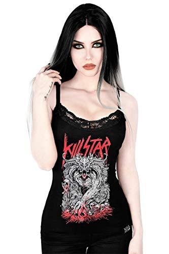 Killstar Gothic Goth Punk Okkult Rock Bleistiftrock Bad Bonds Kunstleder Riemen