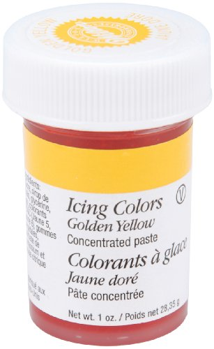 Wilton Icing Colors, 1-Ounce, Golden Yellow