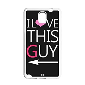 """Generic Mobile Phones Cover For Samsung Galaxy Note 3 case I Love This Guy and """"You Can't Sit With Us""""- Mean Girls Hard Plastic shell phone Cases Protective Skin"""