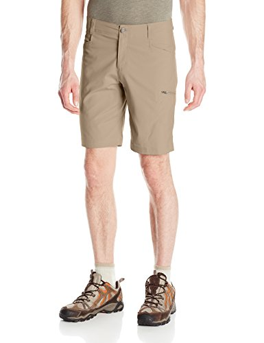Columbia Men's Silver Ridge Stretch Shorts, Tusk, 34 x (Ridge Four)