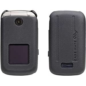 Case-Mate Tough Shell Cover for AT&T Z331 - Black / Gray