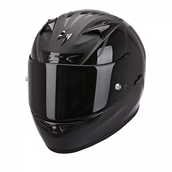 Scorpion - Casco de moto, modelo EXO-710 AIR Spirit, color negro mate