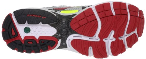 Brooks Ravenna 4 M - Zapatillas de correr de material sintético hombre rojo - Lava/Nightlife/Silver/Black/White