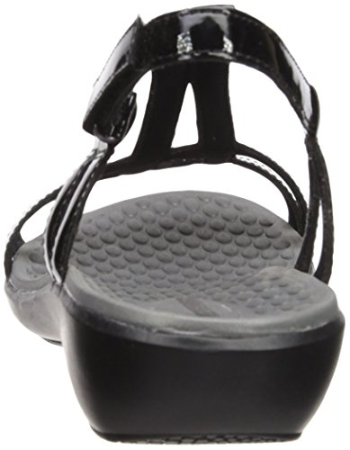 CLARKS Women's Sonar Aster Sandal Black Synthetic Patent cheap sale get to buy buy cheap footlocker footlocker cheap price finishline outlet big sale p0ssHKf