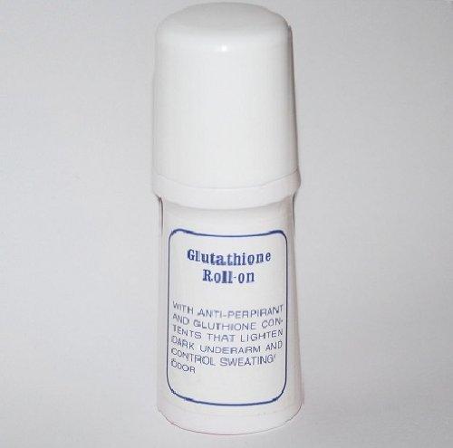 3 Bottles of Glutathione Whitening Deodorant Roll-On