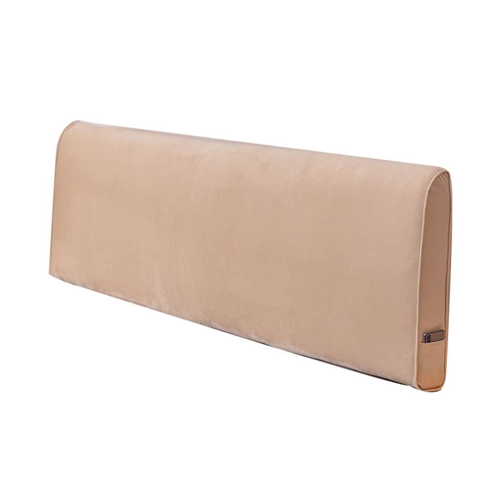 ベッドサイドクッションピロー、ファブリックバックレストベッドカバー取り外し可能および洗える A++ (色 : A, サイズ さいず : 180cm) B07QKSKT5D A 180cm