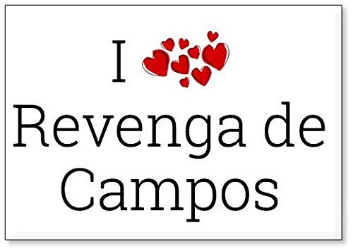 Mundus Souvenirs - Amo Revenga de Campos, Imán para Nevera (diseño ...