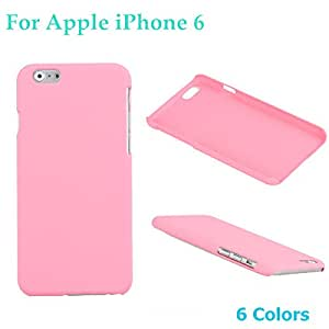 For Apple iPhone 6 Mobile Phone Case PC Protective Case Cover Hard 6 Colors High Quality Phone Case --- Color:Blue