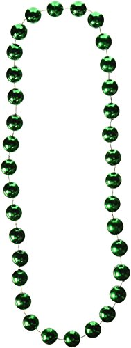 Jumbo Party Beads (green) Party Accessory  (1 count) (1/Card)