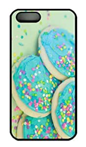 Case For HTC One M7 Cover CaCustomized Unique Design Soft Sweet Sugar Cookies New Fashion PC Black Hard
