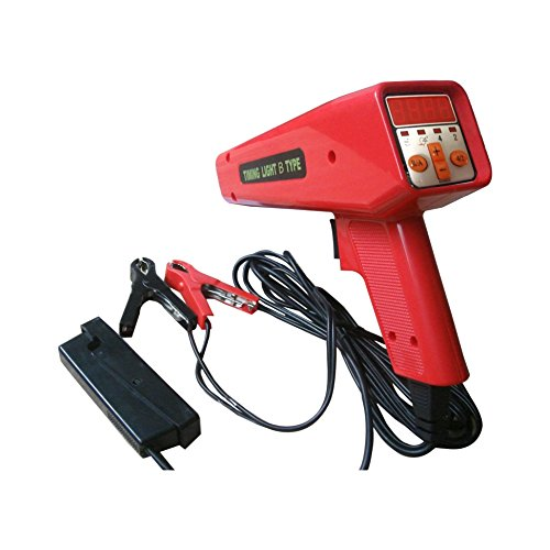 (WIN.MAX Clear Digital Volt Display Screen Timing Gun for Car Engine Repair Tool)