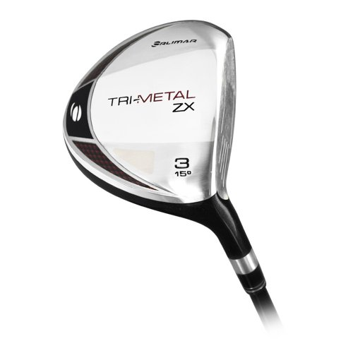 Orlimar Trimetal ZX Stainless Maraging Face 3 Wood (Mens, Right Handed, Aldila Graphite, Stiff), Outdoor Stuffs