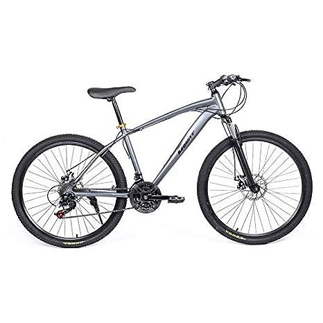 Riscko Bicicleta Mountain Bike de Aluminio Modelo Explorer con Ruedas de 26'' (Azul)