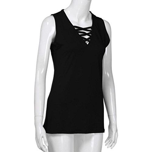 Bailarinas de SANFASHION Poli Damen Shirt145 Bekleidung SANFASHION TnTwxqBH7I