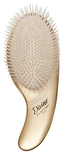 Olivia Garden Divine Revolutionary Ergonomic Design Hair Brush DV-3 (Dry-Detangler)