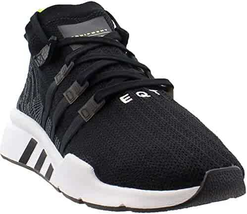 hot sale online d0d38 f51d9 adidas Originals Mens EQT Support MID ADV Primeknit Shoes (13, BlackGrey
