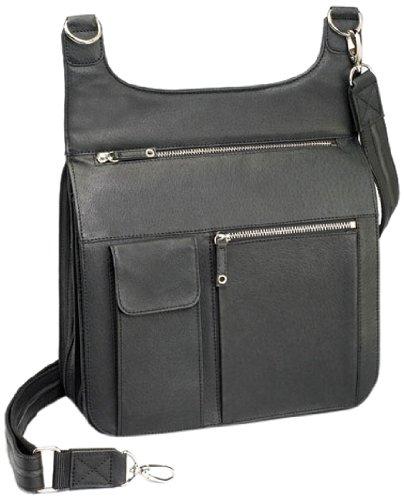 47958c17797 Gun Tote'n Mamas Concealed Carry Jennifer's Traveler Cross-Body Shoulder  Bag, Black, Small