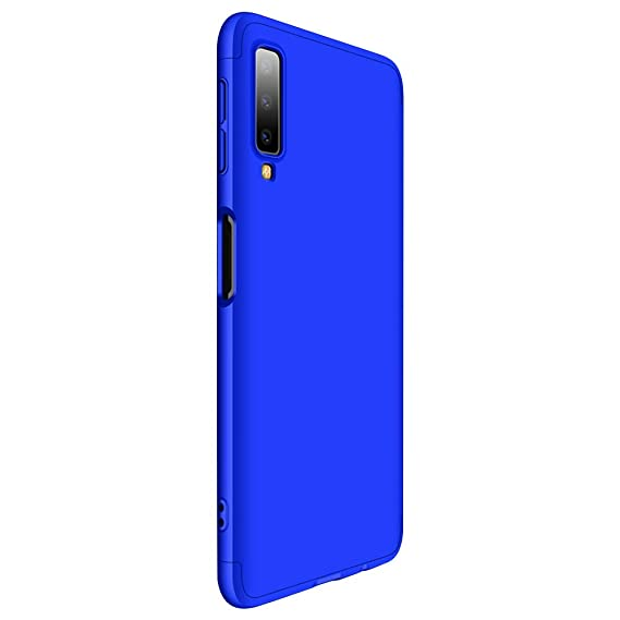 big sale f0e04 ba205 Case with Galaxy A7 2018 Full Body 3 in 1 Slim Thin Fit Tightly [360 Degree  Protection] Hybrid Bumper 3 in 1 Hard Case for Samsung Galaxy A7 2018 ...