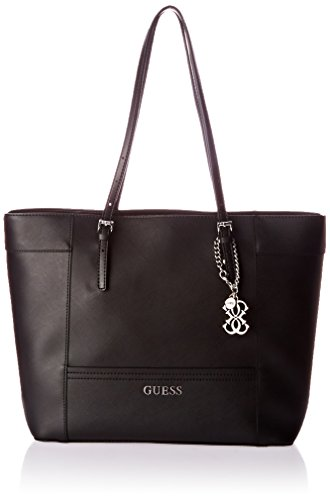 UPC 885935691031, Guess Women's Delaney Medium Tote Bag, Black