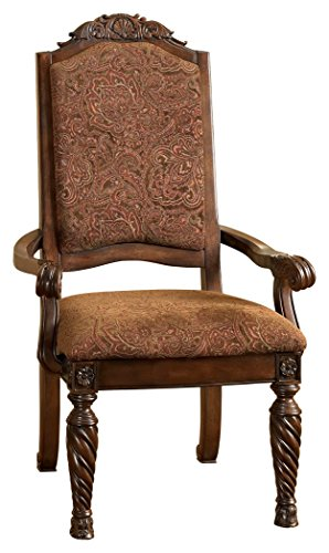 D553-02a Ashley Furniture Dining Uph Arm Chairs, Set of 2