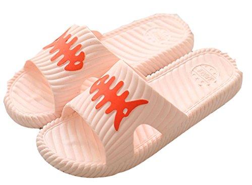 Donna Bionda Blubi Open Toe Comfort Doccia E Sandalo Da Spiaggia Sandalo Da Spiaggia Nudo