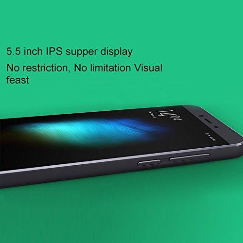 Cubot X10 5.5 inch MTK6592 Octa Core 1.4GHz Waterproof Phone ROM 16GB RAM 2GB (Black Standard)