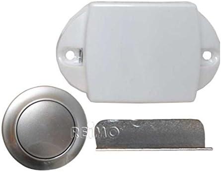 Push Lock Möbelschloss Silber Matt Auto