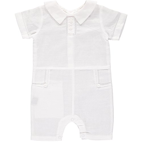 Carriage Boutique Baby Boys Formal Special Occasion Shortall - Summer Outfit, ()