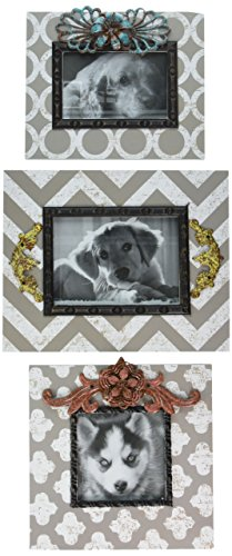 IMAX 72102 3 Chevron Photo Frames product image