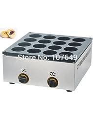 Hot Sale 16pcs Commercial Use Non Stick LPG Gas Dorayaki Japanese Pancake Machine Baker Maker