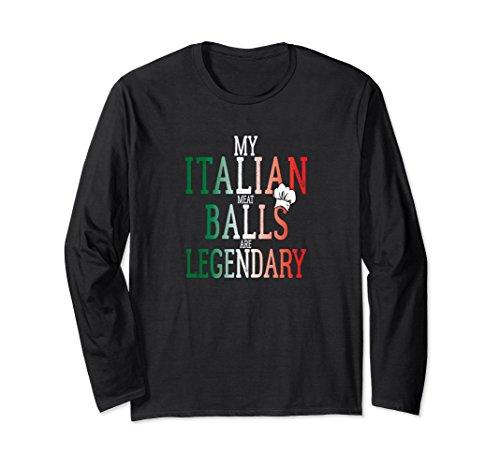 Unisex My Italian Meatballs Are Legendary Chefs Cooks T-shirts XL: (Italian Meatball)