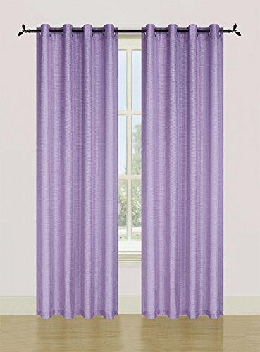 "Ellen Tracy SPEC10884LA Spectrum Grommet Window Panel Pair by Ellen Tracy, 108×84"" Lavender Review"
