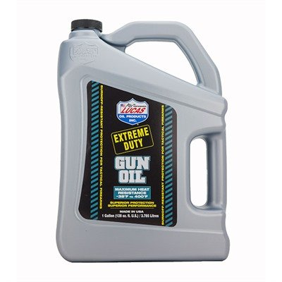 Lucas Oil Extreme Duty Gun Oil Gallon by Lucas