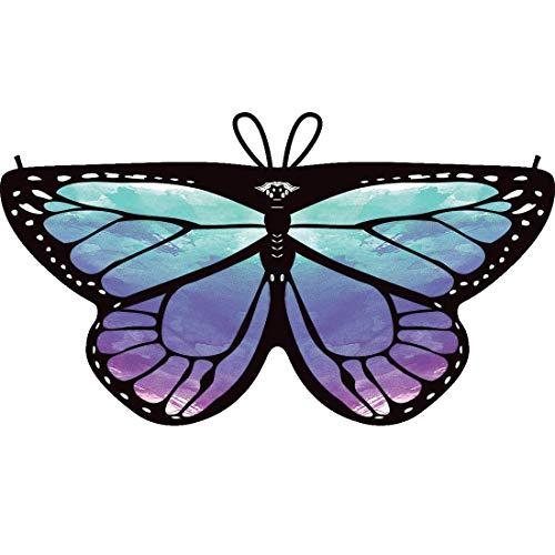 Shireake Baby Cartoon Butterfly Wings Costume Play Butterfly Wings for Kids (Star Sky-1) ()