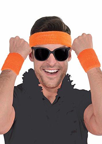 Athlete Sweatband Kit - Set of 1 Headband and 2 Wristbands, Cotton, ()