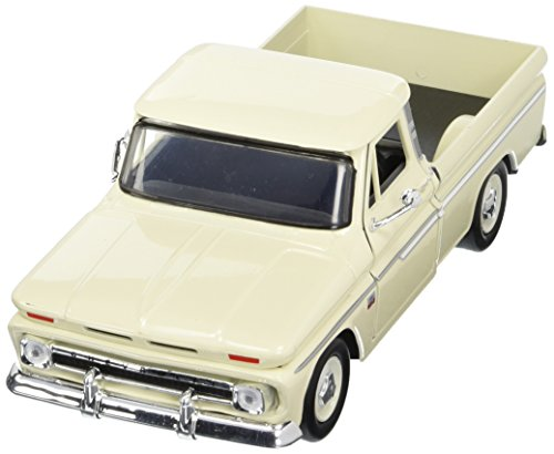 Showcasts Collectibles 1966 Chevy C10 Fleetside Pickup Truck 1/24 Diecast Model Car Cashmere (Chevy Truck Model compare prices)