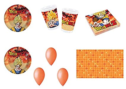 Party Store Web By Hogar Dulce Hogar Dragon Ball Z Goku Juego De