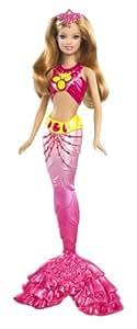 """Barbie - Muñeca, sirenas """"Una Aventura De Sirenas 2"""", color rosa (Mattel W2906)"""