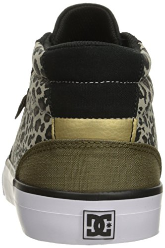 Council Leopard DC Skate SP Shoe Women's Print Mid pwTq54H