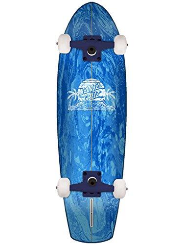 Santa Cruz A Frame Street Shark Skateboard Complete Assorted 8.8in x 30.97in - Shark Complete Skateboard
