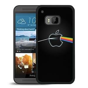 Individualization Physics Light Reflection Black Plastic HTC ONE M9 Protective Case