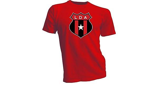Liga Deportiva Alajuelense Costa Rica Futbol Soccer Rojo Camiseta Nueva LD LDA: Amazon.es: Deportes y aire libre