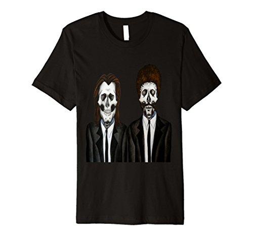 Mens Skull Classic Film T-Shirt Medium (Cult Classic Movie Halloween Costumes)