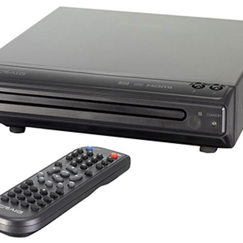 authentic craig hdmi dvd player with remote cvd401a free. Black Bedroom Furniture Sets. Home Design Ideas