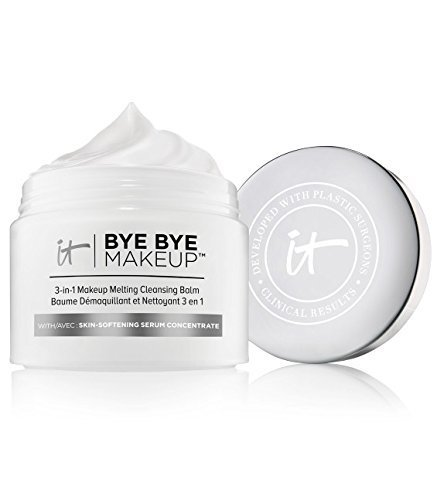 IT Cosmetics Bye Bye Makeup 3-in-1 Makeup Melting Cleansing Balm, 2.82 oz (80 g)