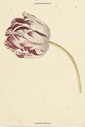 Download Pink and White Tulip Antique Botanical Art Journal: 150 Page Lined Notebook/Diary PDF