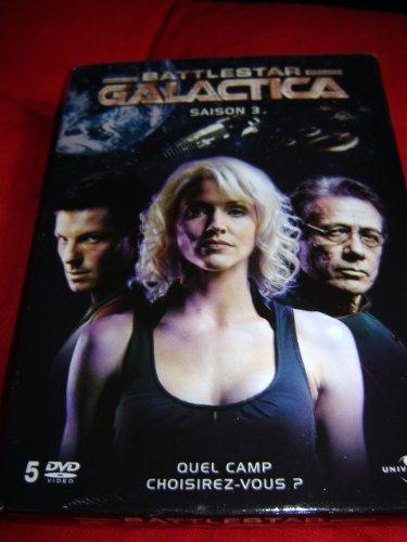 Battlestar Galactica Season 3 - 5 dvds edition / Battlestar galactica, saison 3