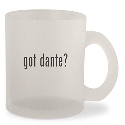 Dante Costumes Dmc (got dante? - Frosted 10oz Glass Coffee Cup Mug)